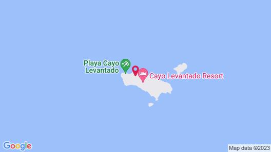 Bahia Principe Luxury Cayo Levantado Map