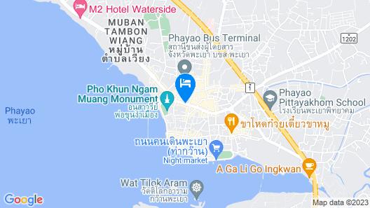 Sabuy Best Hotel Phayao Map