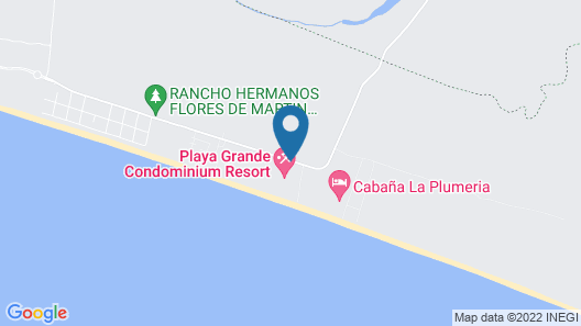 Condo Ciri Playa Grande Map