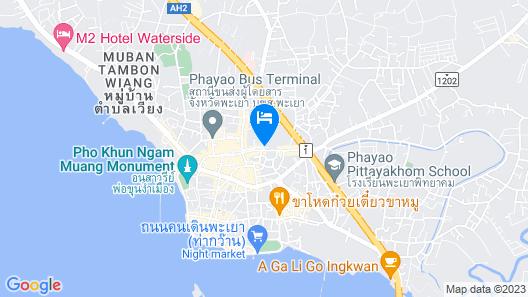 Phayao Northen Lake Hotel Map
