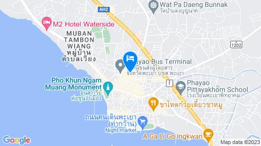 Phayao Gateway Hotel Map