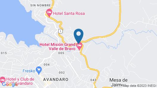Cabañas Monte Alto Hotel Boutique Map
