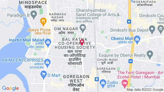 Radisson Mumbai Goregaon Map