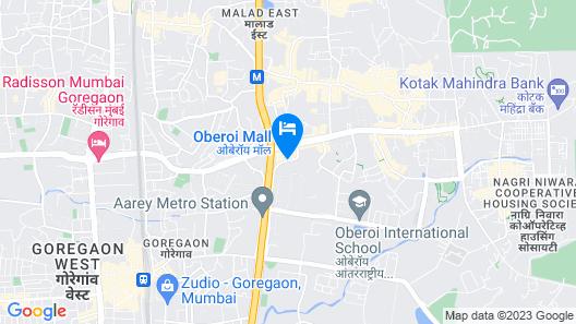 The Westin Mumbai Garden City Map