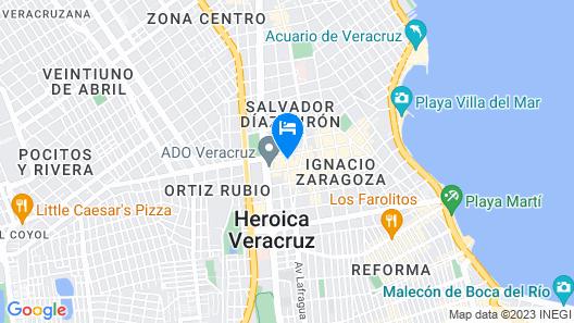 Nû Hotel Map