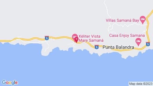 Xeliter Vista Mare - Free WiFi, Samaná Map