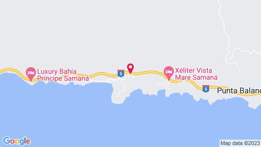 Tambora Beach Suites Map