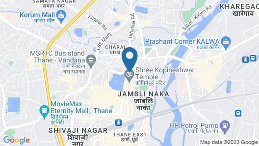 Hotel Highland Residency Map