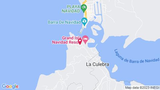 Grand Isla Navidad Resort Map
