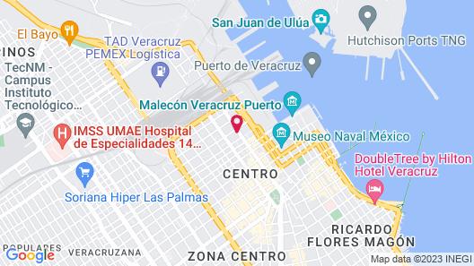 Veracruz Centro Histórico Map