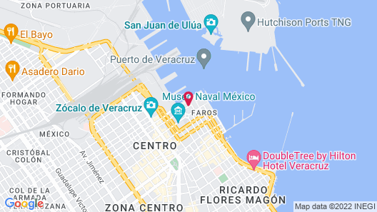 Emporio Veracruz Hotel Map