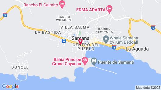 Luxury Ocean View Villa Puerto Bahia-samana Map