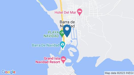 Casa Mexicana Barra de Navidad Map