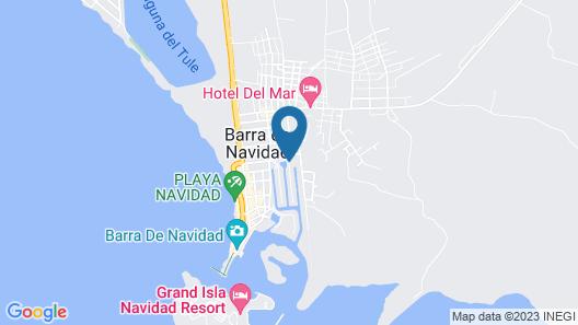 Cabo Blanco Hotel & Marina Map