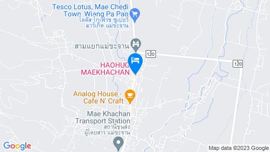 Haohug Maekhachan Hotel Map