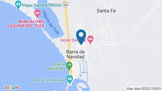 Hotel Del Mar Map