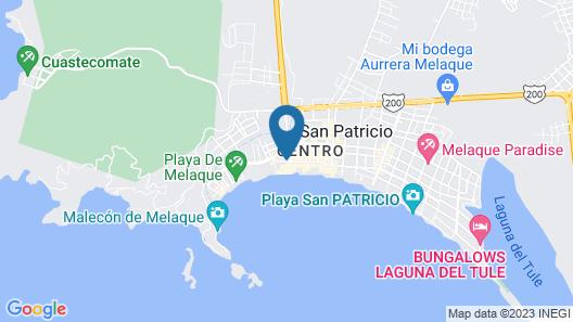 Club Nautico El Dorado Map