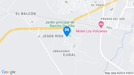 El Rincon De Los Angeles Map