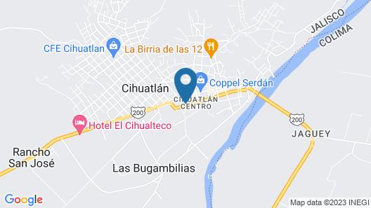 Hotel Posada Agua Escondida Map