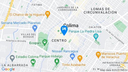 Hotel Casa Danna Map