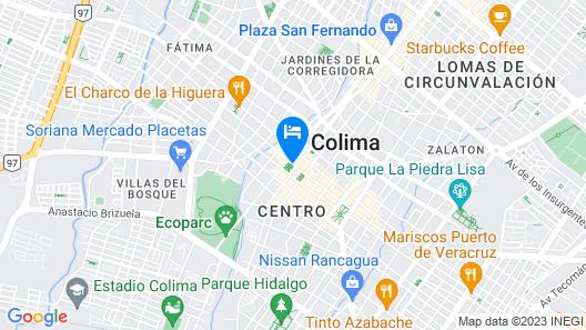 Best Western Plus Hotel Ceballos Map