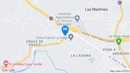 Villa Bayacanes Map