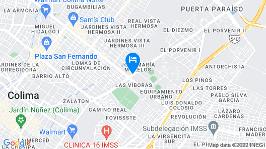 Hotel Maria Isabel Map