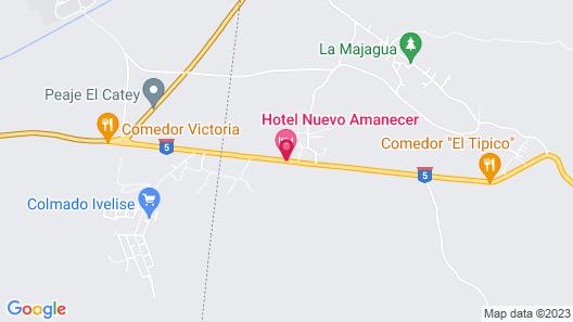 Hotel & Restaurant Nuevo Amanecer Map