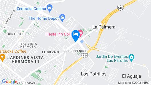 Wyndham Garden Colima Map