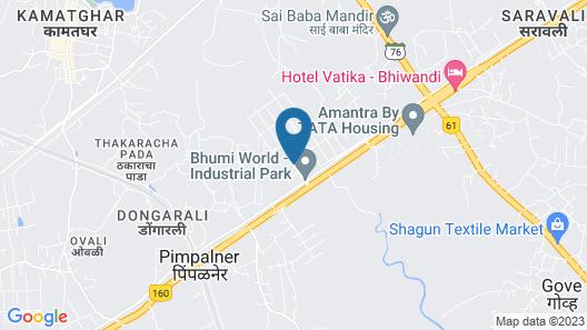 Hotel Gopalas Residency Map