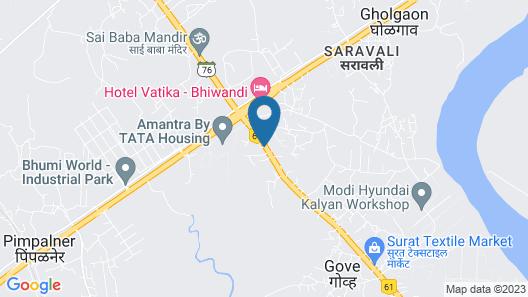 VITS Kalyan Bhiwandi  Map