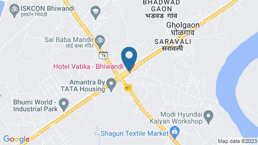 Vatika Hotel & Banquets Map