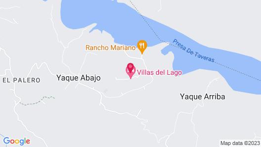Villas del Lago Marina and Country Club Map