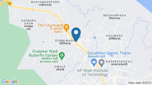 Chakrika Lodging Map