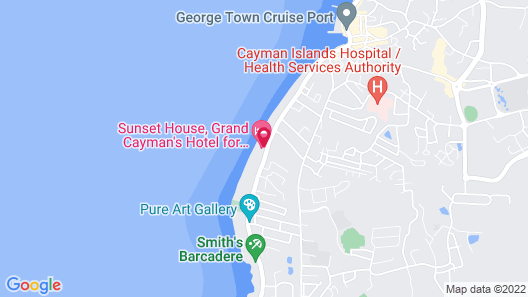 Sunset House Map