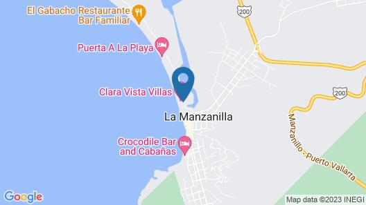 Clara Vista Villas Map