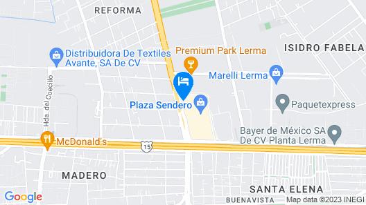 Holiday Inn Express Toluca Zona Aeropuerto Map