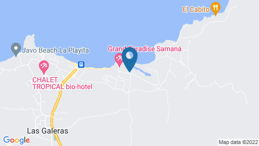 Grand Paradise Samana-an Amhsa Marina Resort-All Inclusive Map