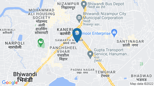 Capital O 45621 Tuliipstays Hotel Ashok Bhiwandi Map