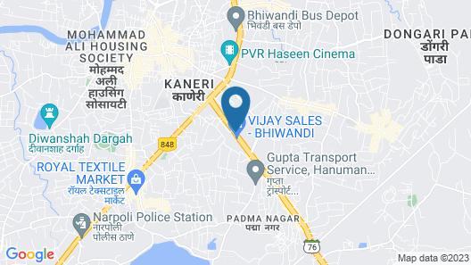 TULIIPSTAYS - Hotel Ashok Bhiwandi Map