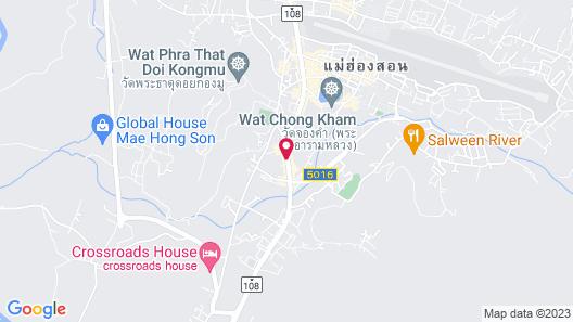 Mae Hong Son Mountain Inn Hotel & Resort Map