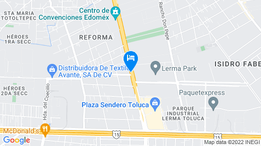 Microtel Inn & Suites by Wyndham Toluca Map