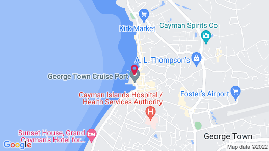 Stingray City Cayman Island Ltd. Map