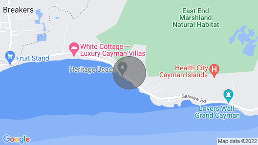 A Wave From It All - New Beach House Getaway Map