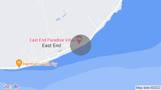 Neptune's Nest by the Sea, East End Map