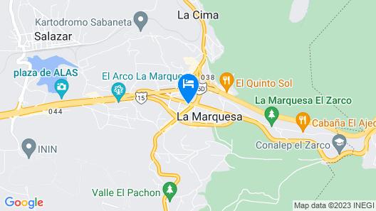OYO Hotel Marquiz Map