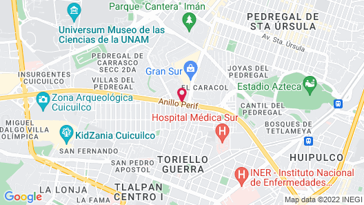 Capitals Luxury Apartments Map