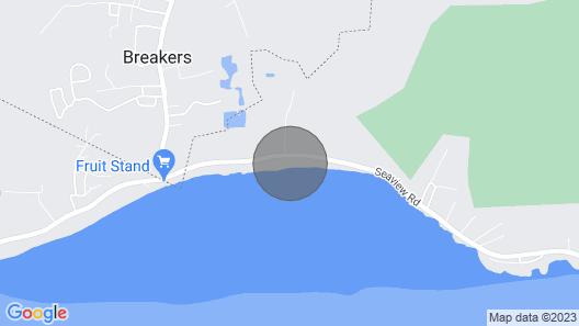 Modern 11,000 Sqft, 4 Story Beachfront Mega-mansion Map
