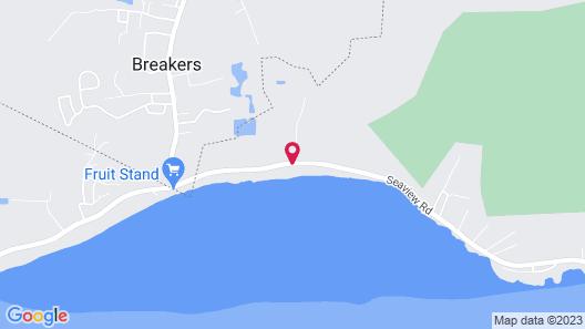 Casa Tortuga by Cayman Villas Map
