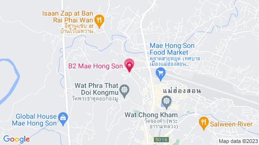 B2 Mae Hong Son Premier Hotel Map